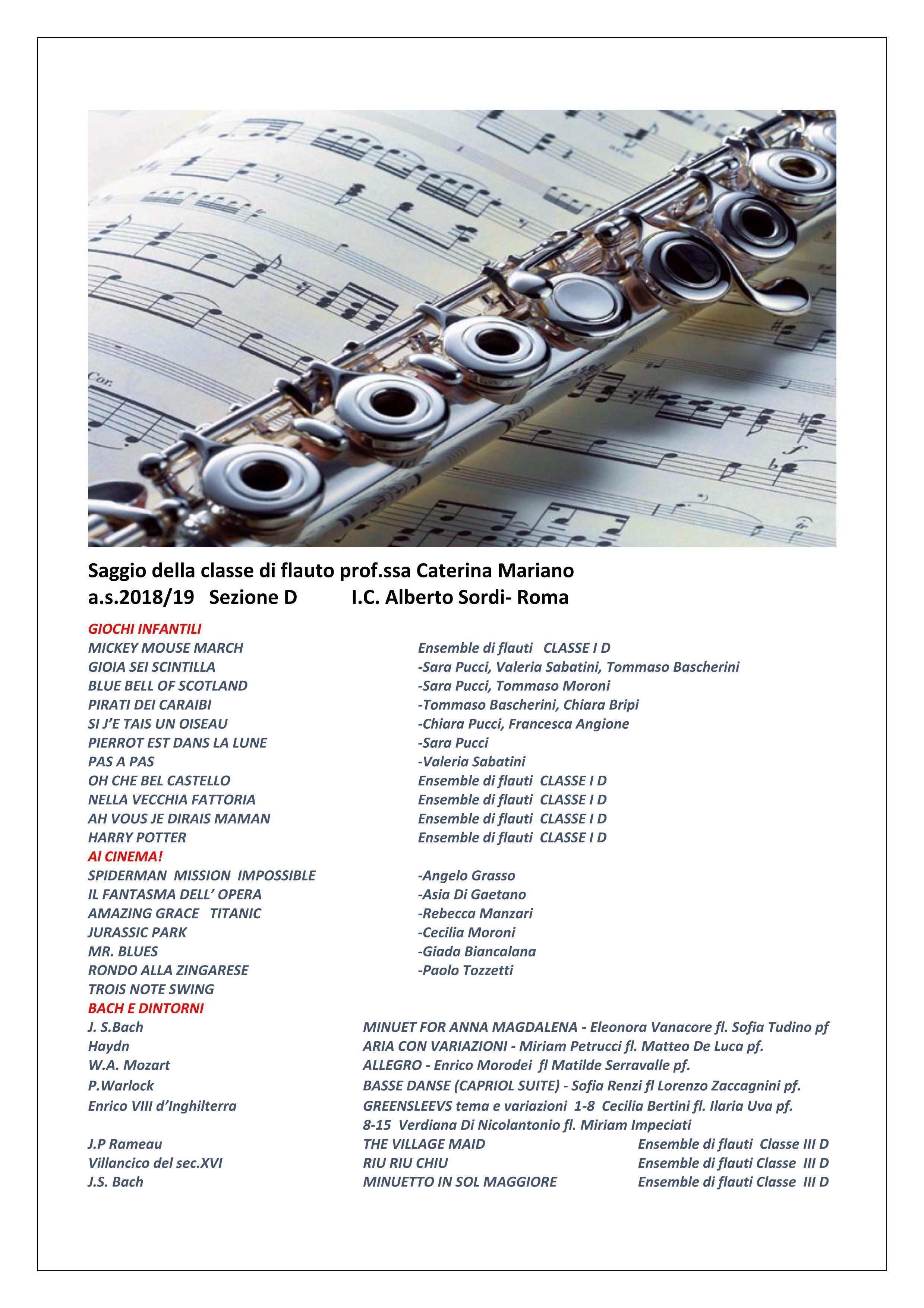 Volantino Concerto